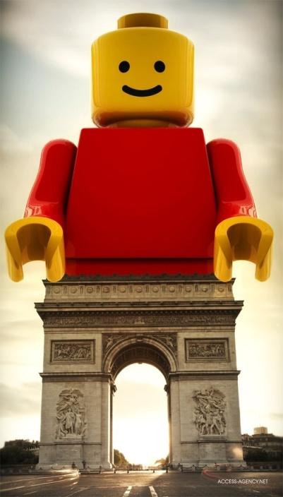 ... Lego in Paris