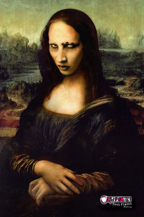 ... Goth-Rock Mona Lisa