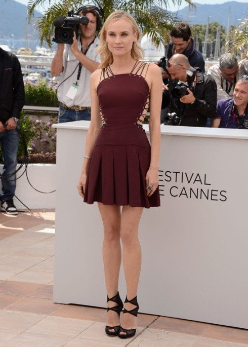 ... Cannes Festival Versace Girl