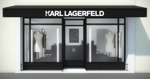 ... Karl Lagerfeld, Saint-Tropez