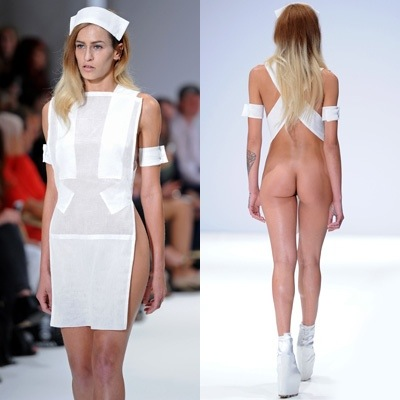 Apologise, but, Nude fashion models naked ass opinion
